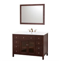 "Avanity Lexington 48"" Single Bathroom Vanity - Light Espresso AVA9404-48-LESP"