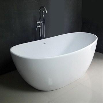 60 Free Standing Tub.  Emy 64 Soaking Bathtub Free Shipping Modern Bathroom