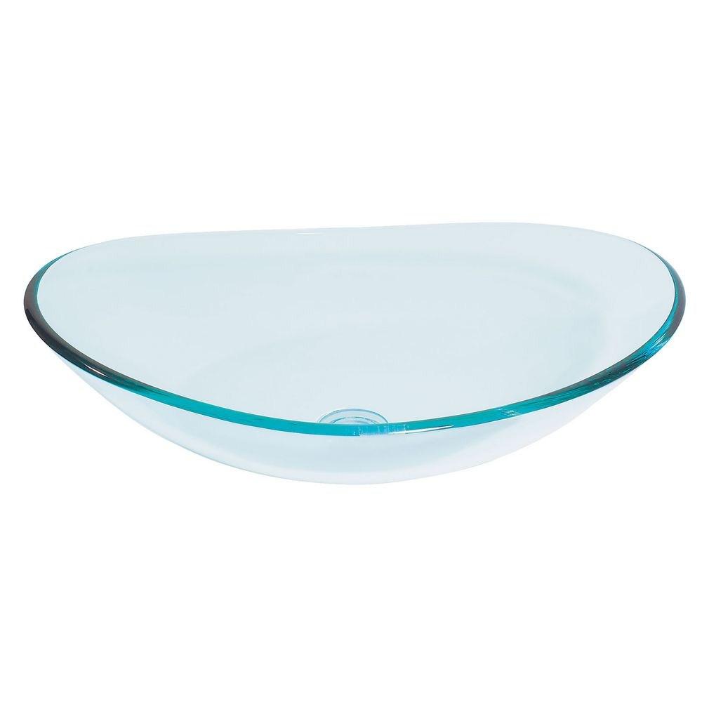 Alto Glass Vessel Sink Clear