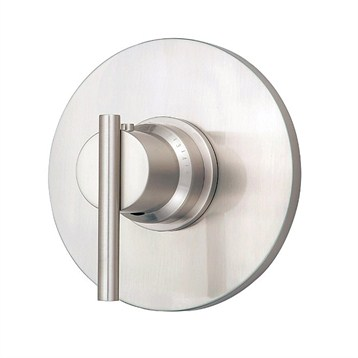 "Danze Parma Single Handle 3/4"" Thermostatic Shower Valve Trim Kit, Brushed Nickel by Danze"