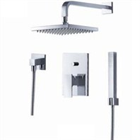 fluid Jovian Pressure Balancing Shower Set w/ Handheld Trim Package F2141-T