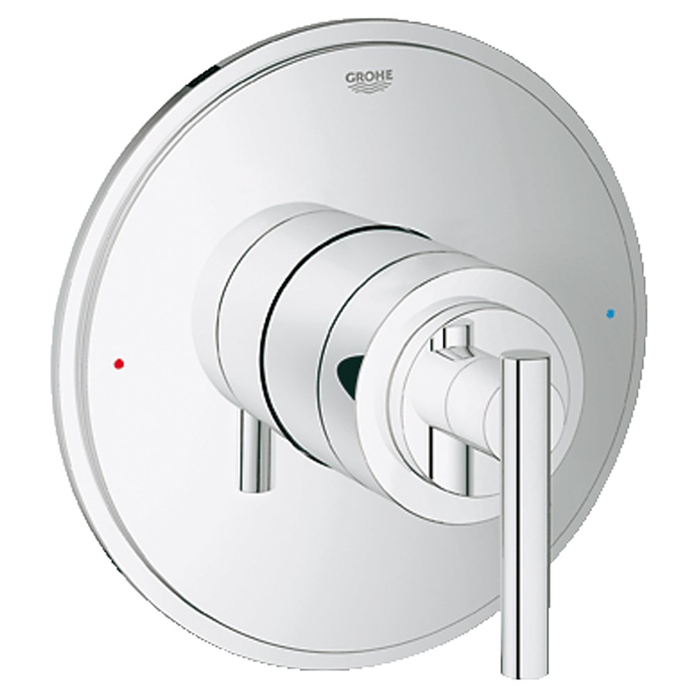 Grohe Atrio Single Function Pressure Balance Trim with Control Module - Starlight Chromenohtin Sale $182.99 SKU: GRO 19866000 :