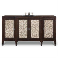 "Cole & Co. 66"" Designer Series Collier Sink Chest - Medium Chestnut 11.23.275566.27"