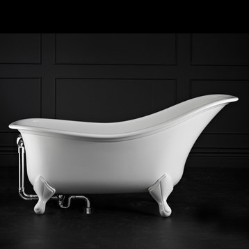 Drayton clawfoot bathtub by victoria and albert free for Victoria albert clawfoot tub