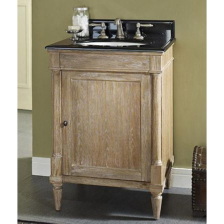 "Fairmont Designs Rustic Chic 24"" Vanity - Weathered Oaknohtin Sale $1015.00 SKU: 142-V24 :"