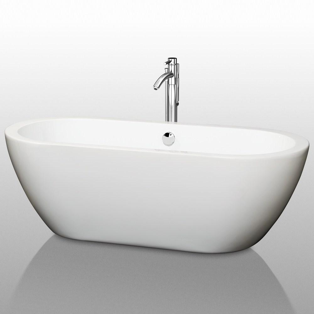 "Soho 68"" Soaking Bathtub by Wyndham Collectionnohtin Sale $1399.00 SKU: WC-BT1002-68 :"