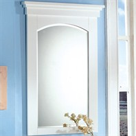 "Fairmont Designs 26"" Lifestyle Collection Shaker Mirror - Polar White"
