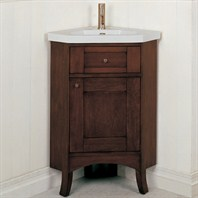 "Fairmont Designs 26"" Lifestyle Collection Shaker Corner Vanity Combo - Dark Cherry"