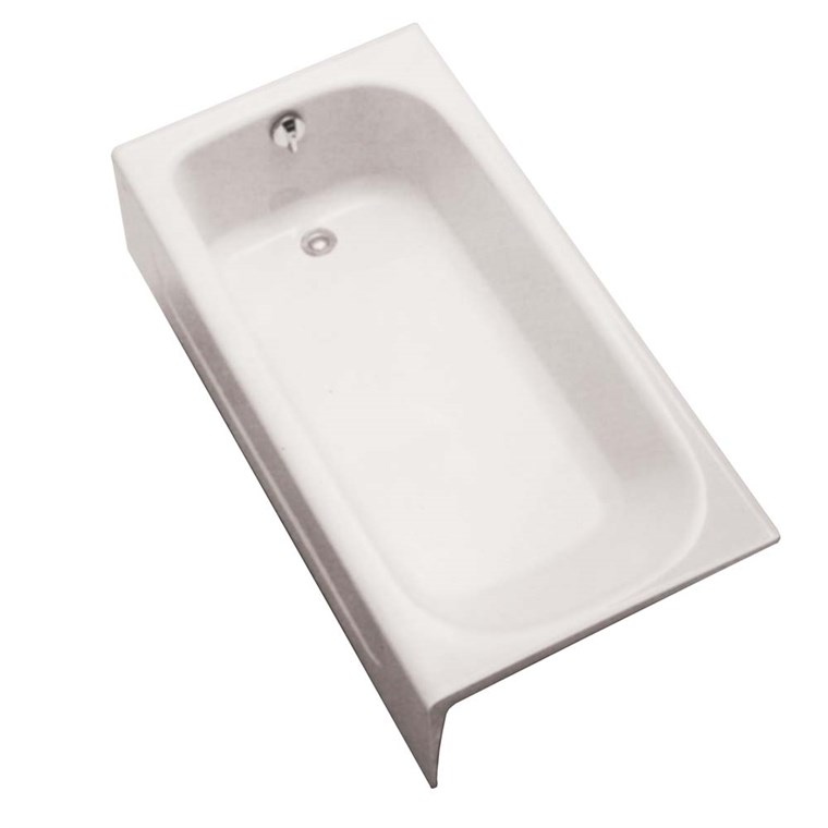 "TOTO 60"" Enameled Cast Iron Bathtub FBY1515P"