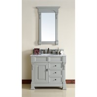 "James Martin 35"" Brookfield Single Vanity with drawers - Urban Gray 147-114-5596"