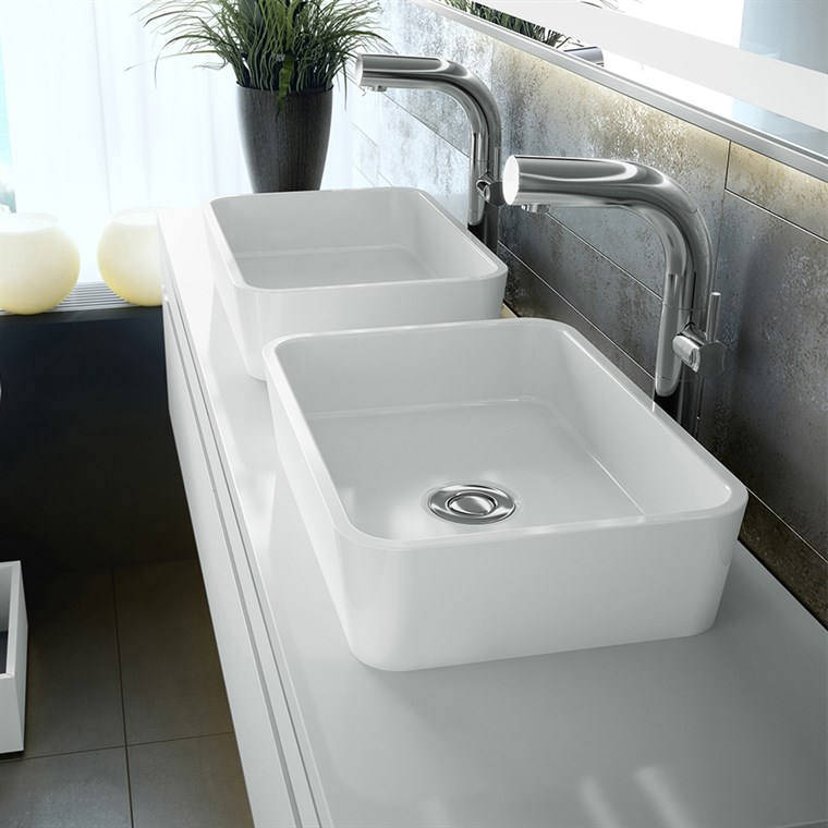 Edge 45 Vessel Sink by Victoria and Albert VB-EDG-45-NO (CS718)