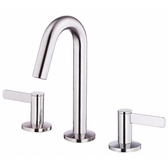 Danze Amalfi Two Handle Mini-Widespread Lavatory Faucet - Chrome D304130