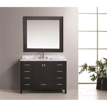 "Design Element London 48"" Vanity Set, Espresso DEC082C by Design Element"