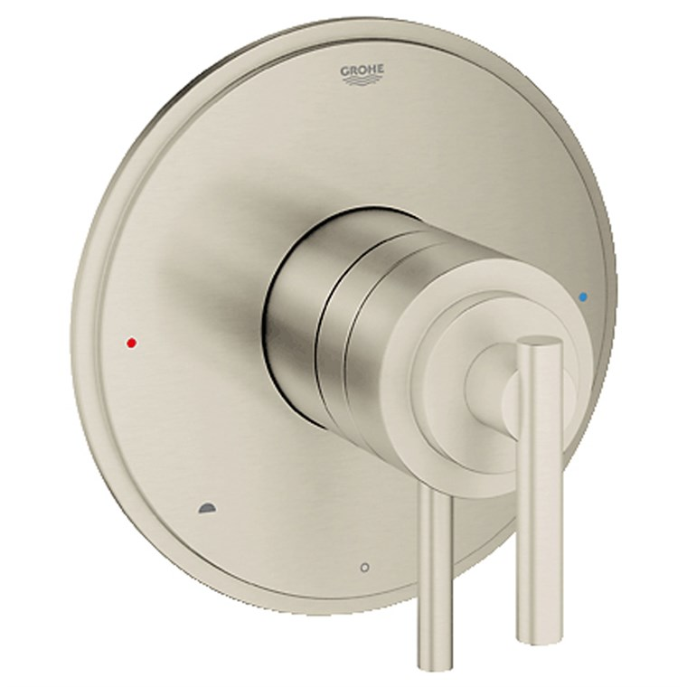 Grohe Atrio Dual Function Pressure Balance Trim with Control Module - Brushed Nickel GRO 19867EN0