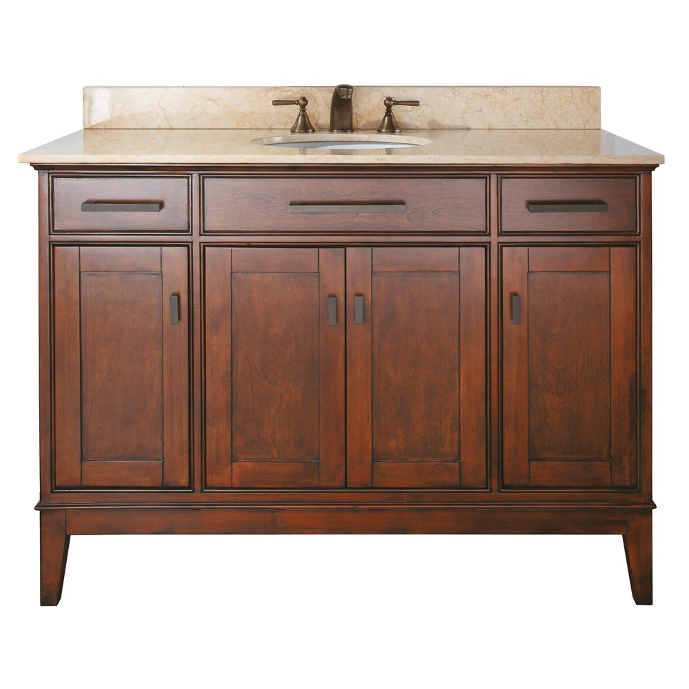 "Avanity Madison 48"" Bathroom Vanity - Tobacco"
