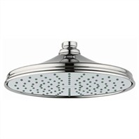 Grohe Rainshower Retro Shower Head - Sterling Infinity Finish