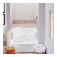 "MTI MTSB-4848JD Shower Base (47.5"" x 47.5"" x 26.5/15"")"