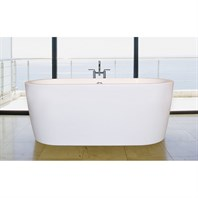 Aquatica PureScape 014A Freestanding Acrylic Bathtub - White Aquatica PS014A