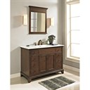 "Fairmont Designs 48"" Smithfield Vanity with Integrated Sink Option - Mink 1503-V48-"