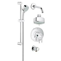 Grohe Atrio Grohflex Bath and Shower Set - Starlight Chrome GRO 35055000