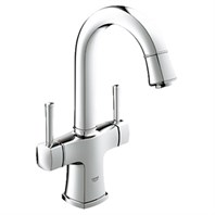 "Grohe Grandera 2-Handle Basin Mixer 1/2"" L-Size - Starlight Chrome GRO 21108000"
