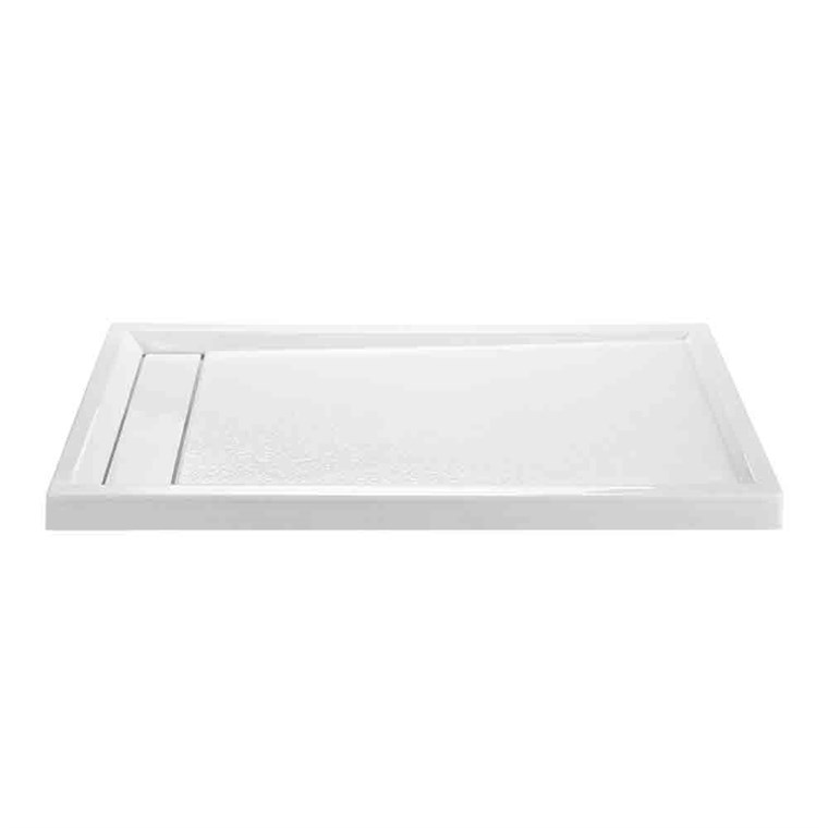 "MTI MTSB-6042MTHD Multi-Threshold Shower Base, Hidden Drain (60"" x 42"") MTSB-6042MTHD"