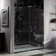 "Bath Authority DreamLine Radiance Shower Door w/ 30"" Panel (53"" - 60"") SHDR-235XX210"