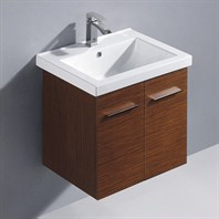 Vigo 24-inch Amber Single Bathroom Vanity - Wenge VG09032118K1