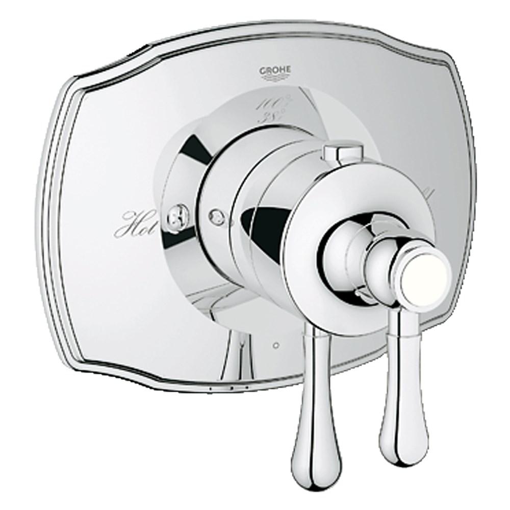 Grohe GrohFlex Single Function Thermostatic Trim with Control Module - Starlight Chromenohtin Sale $335.99 SKU: GRO 19822000 :
