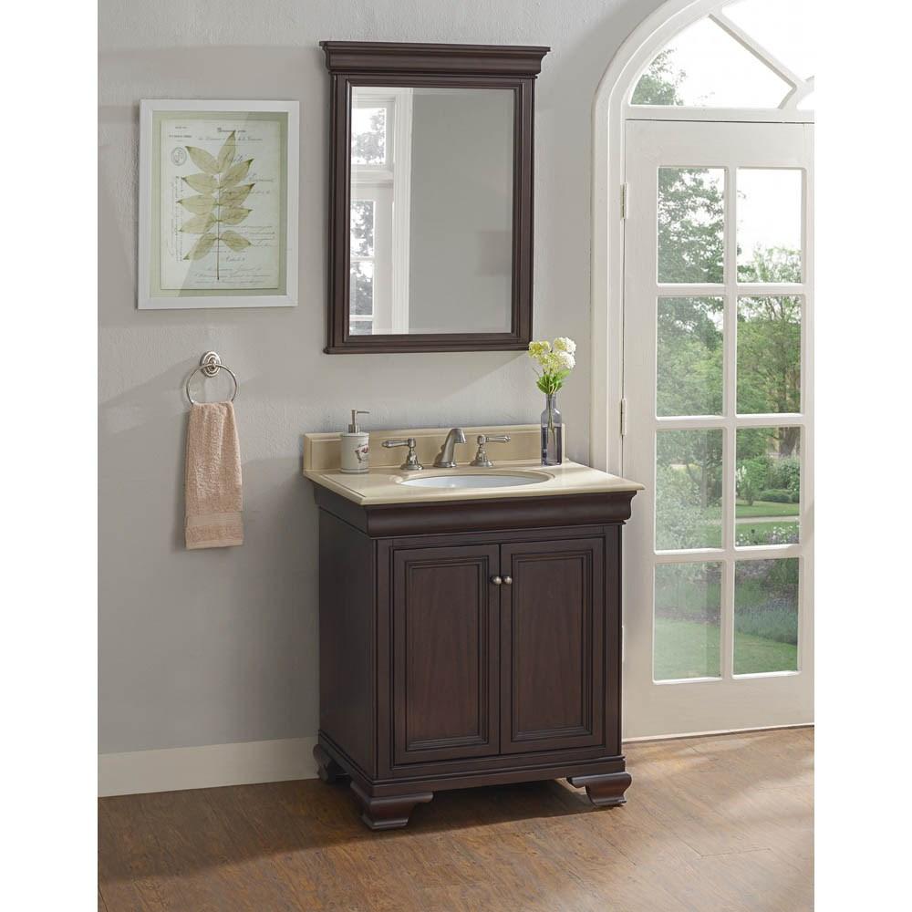 "Fairmont Designs Providence 30"" Vanity - Aged Chocolatenohtin Sale $1087.00 SKU: 1529-V30 :"