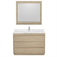 "Naya 48"" Single Bathroom Vanity by Wyndham Collection - Ash Gray WC-1818-48-SGL-VAN-ASG"
