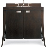 "Cole & Co. 40"" Designer Series Large Lily Vanity - Deep Mahogany 11.19.275240.12"