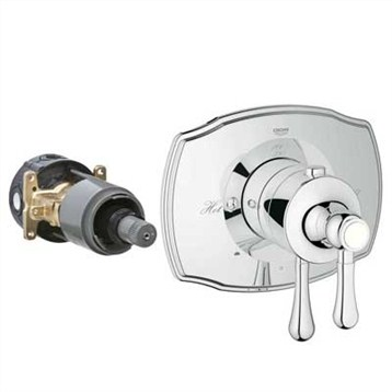Grohe GrohFlex Authentic Dual Function Thermostatic Trim with Control Module GRO 19825 by GROHE