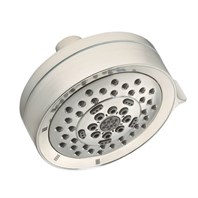 "Danze Parma 4 1/2"" 5 Function Showerhead 1.75gpm - Brushed Nickel D460064BN"