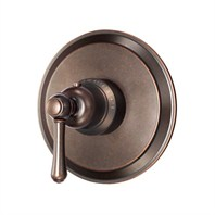 Danze Opulence Single Handle 3/4'' Thermostatic Shower Valve Trim Kit - Tumbled Bronze D562057BRT