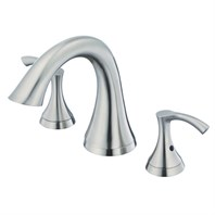 Danze Antioch 2H Roman Tub Faucet w/out Spray Trim Kit - Brushed Nickel D300922BNT
