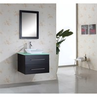 "Virtu USA Marsala 29"" Single Sink Bathroom Vanity - Espresso MS-560"