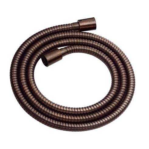 Danze All Metal Interlock Hose - Tumbled Bronze D469020BR