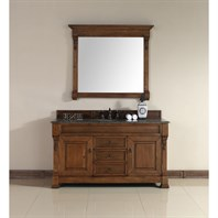 "James Martin 60"" Brookfield Single Vanity - Country Oak 147-114-5371"