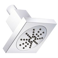 "Danze 4"" Square Single Function Showerhead 2.5 GPM - Chrome D460049"