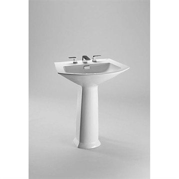 Toto Soiree Pedestal Lavatory by Toto