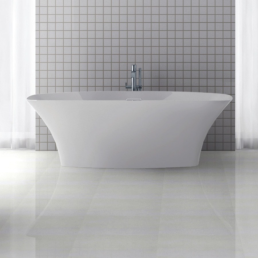 "Americh International Roc Collection Varna Freestanding Bathtub (71"" x 31"" x 23"")nohtin Sale $5355.00 SKU: RC2202-MW :"