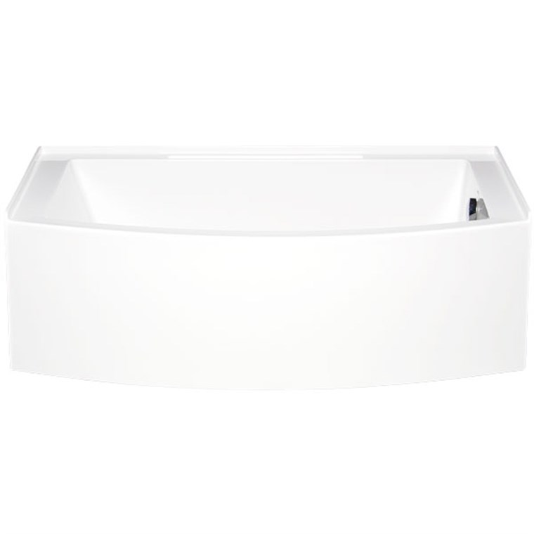 "Americh Mezzaluna 6032 Right Handed Tub (60"" x 32"" x 20"") MZ6032R"