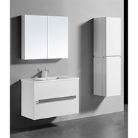 "Madeli Urban 36"" Bathroom Vanity for Integrated Basin - Glossy White B300-36-002-GW"