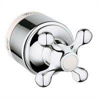 Grohe Seabury Pressure Balance Valve Cross Handle Assembly - Chrome GRO 47703000