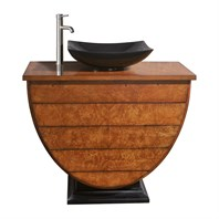 "Avanity Legacy 40"" Single Bathroom Vanity - Golden Burl LEGACY-V40-BU"