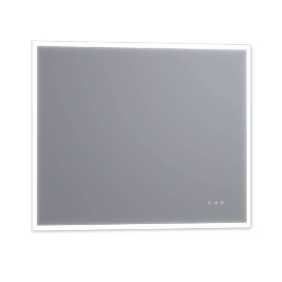 "Luxaar Lucent 48 "" x 36 "" Wall Mounted LED Vanity Mirror with Color Changer, Dimmer and Defogger LEDCM4836"