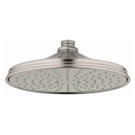 Grohe Rainshower Retro Shower Head - Infinity Brushed Nickel