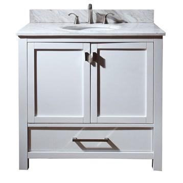 "Avanity Modero 36"" Bathroom Vanity, White MODERO-36-WT by Avanity"