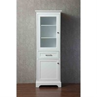 Stufurhome Morgan 24 Inch Linen Cabinet - White HD-071LC